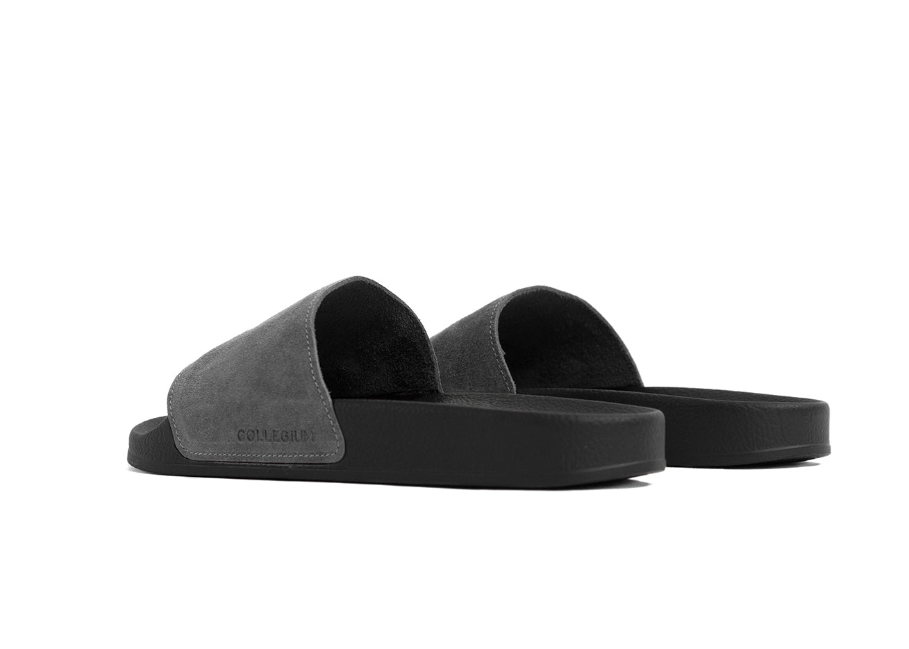 "Classic Pillar Slide ""Shadow Suede"""