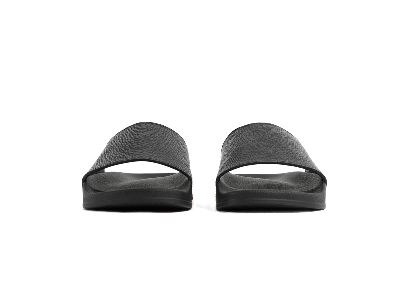 "Women's Classic Pillar Slide ""Nero"""