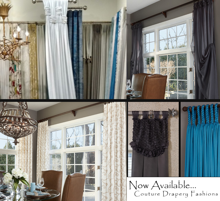 Couture window fashions