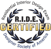 Residential Interior Designer Exam Passed Logo