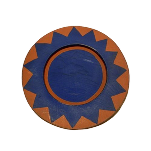 Southwest Plate - Blue