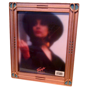 Terragraphics Picture Frame - Silver Tone (8x10)