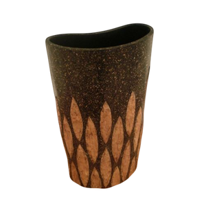 Wide Top Frantic Fern Vase