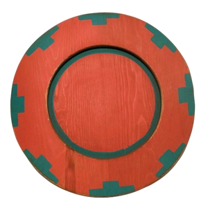 Southwest Plate - Red
