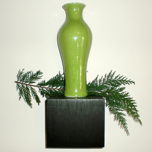Legend of Asia Lime Vase (10 inch)