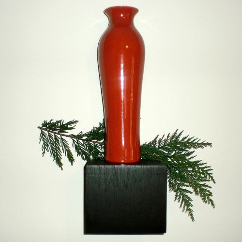 Legend of Asia Persimmon Vase (12 inch)