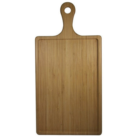Bamboo Serving Board Rectangle with Handle