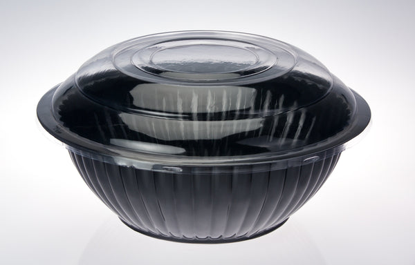 12 inch Black Salad Bowl
