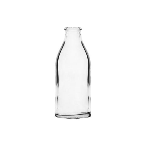 Mini Glass Milk Bottle 140 mL (12 UNITS)