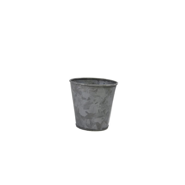 Coney Island Galvanised Pot 95 mm X 105 mm