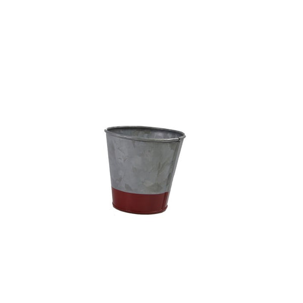 Coney Island Galvanised Pot Dipped Red 95 mm X 105 mm