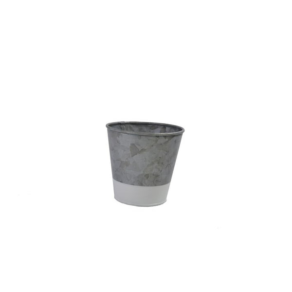 Coney Island Galvanised Pot Dipped White 95 mm X 105 mm