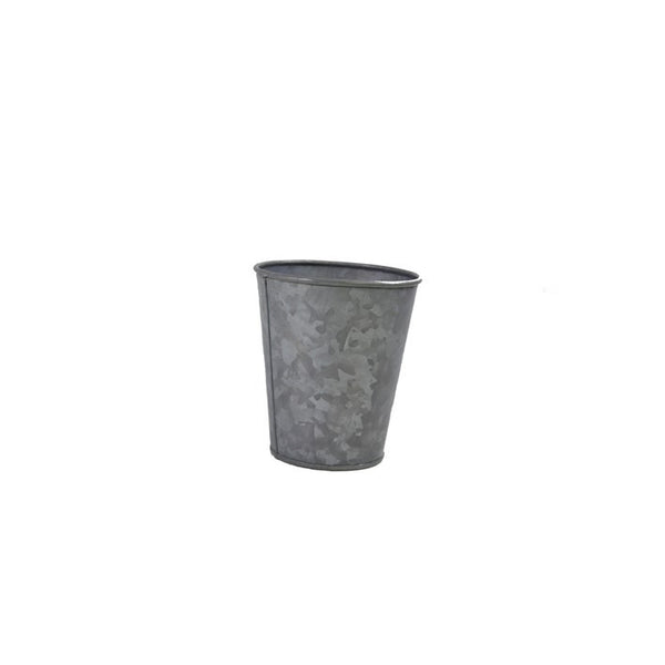 Coney Island Galvanised Pot Flared 100 mm X 95 mm