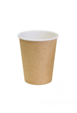 12 oz Kraft Single Wall Coffee Cup