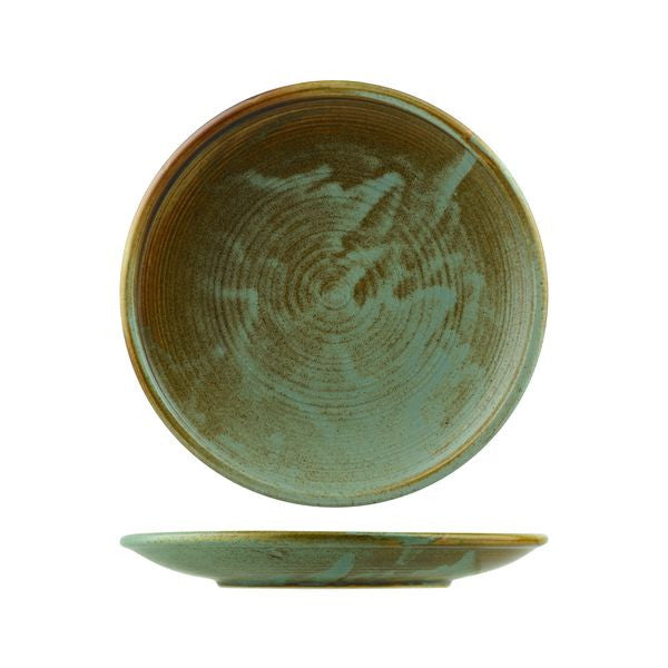 Nourish Coupe Plate-260 mm - Fired Earth