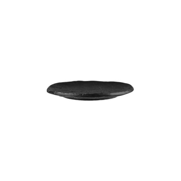 Round Plate 230 mm Matt Black Prevail Cheforward