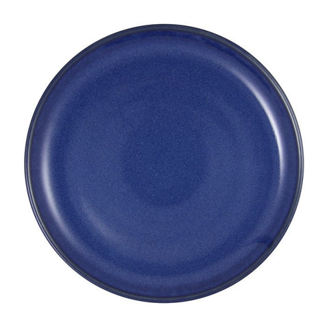 Artistica Round Plate 270mm Rolled Edge Reactive Blue