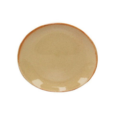 Artistica Oval Plate 210 mm X 190 mm Flame