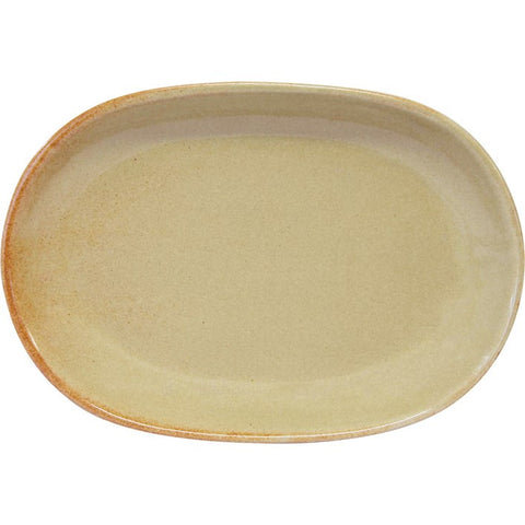 Artistica Oval Serving Platter 305mm X 210mm Flame