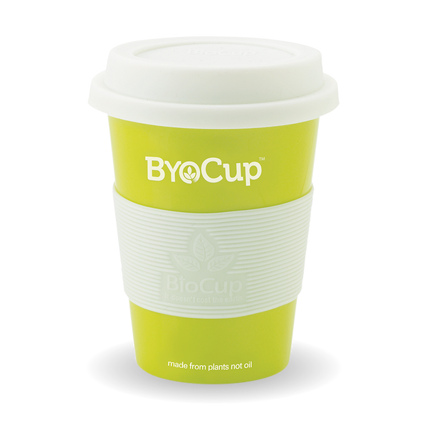 Reusable 12oz ByoCup Green