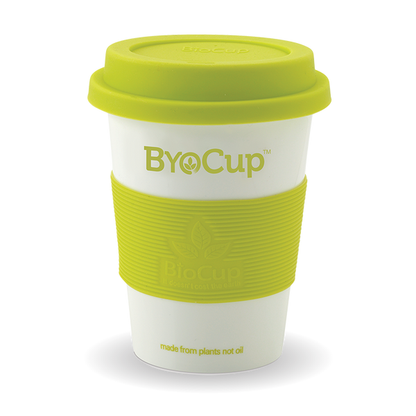 Reusable 12oz ByoCup White