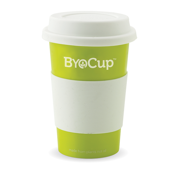 Reusable 16oz ByoCup Green