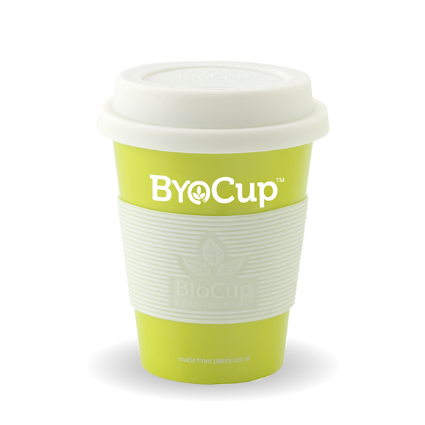 Reusable 8oz ByoCup Green