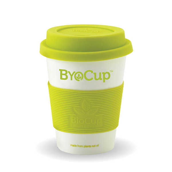 Reusable 8oz ByoCup White