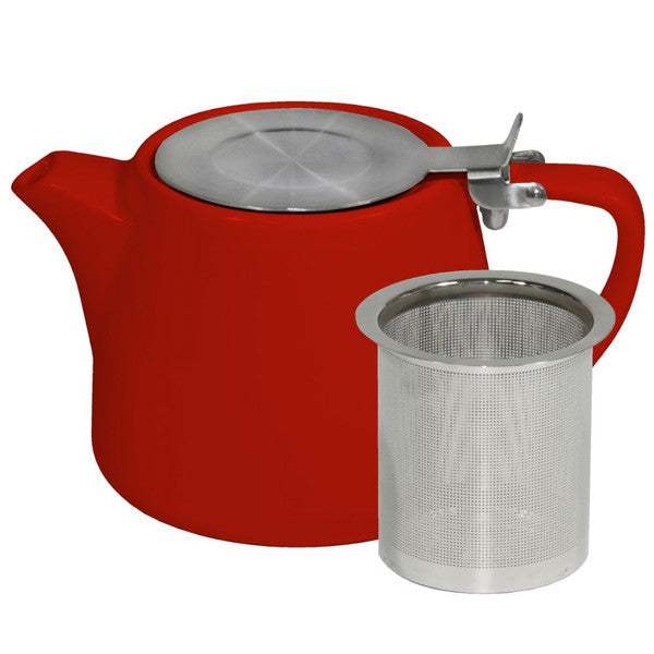 Brew-Chilli Stackable Teapot 600 mL with Ss Infuser & Lid (6 Units)