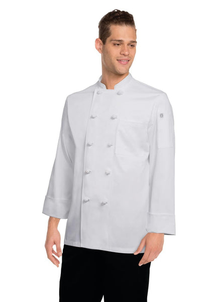 Colmar White Basic Chef Jacket
