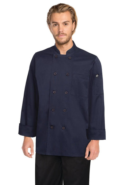 Torino Navy Basic Chef Jacket Navy