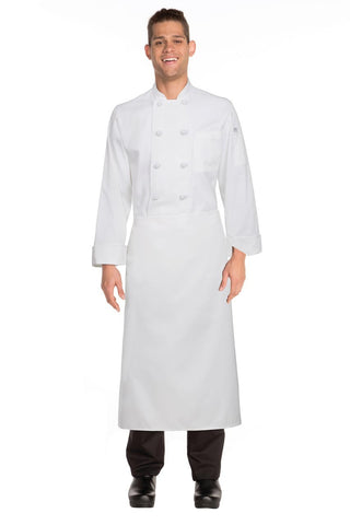 3/4 Bar Apron White