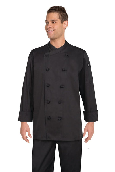 Montpellier Black Basic Chef Jacket