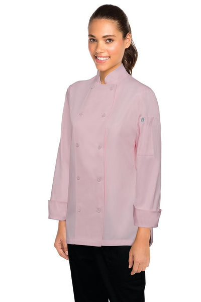 Marbella Women's Executive Chef Jacket Pink