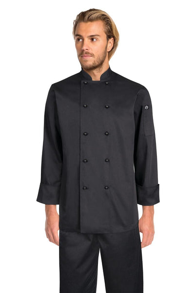 Darling Black L/S Basic Chef Jacket