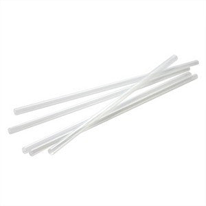 210mm Clear Regular Straw