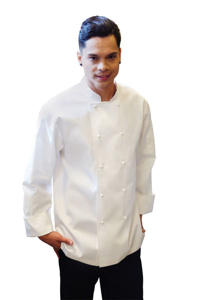 Murray White L/S Basic Chef Jacket