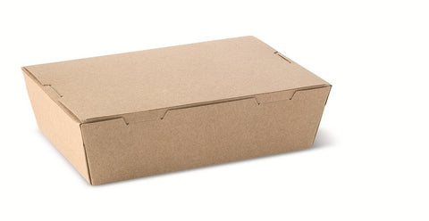 Beta Board Corrugated Lunch Box 750ml (142 X 89 X 53)
