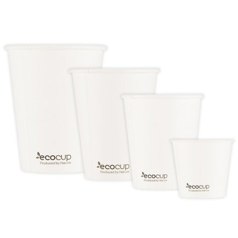 4oz Single Wall EcoCup - White (60mm)