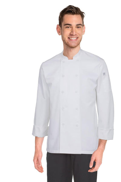 Mayenne Basic Chef Jacket White
