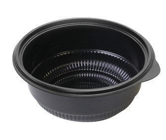 Black Polypropylene Bowl 16oz (475ml)Microwaveable