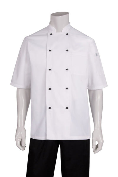 Macquarie White S/S Basic Chef Jacket