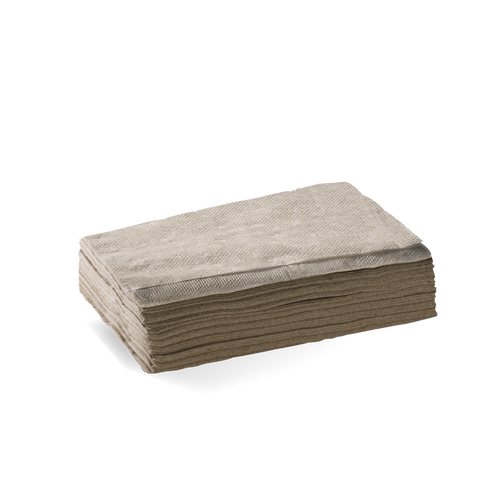 1 Ply Tall Dispenser Napkin (E Fold) -Fscâ® Pulp (Natural)