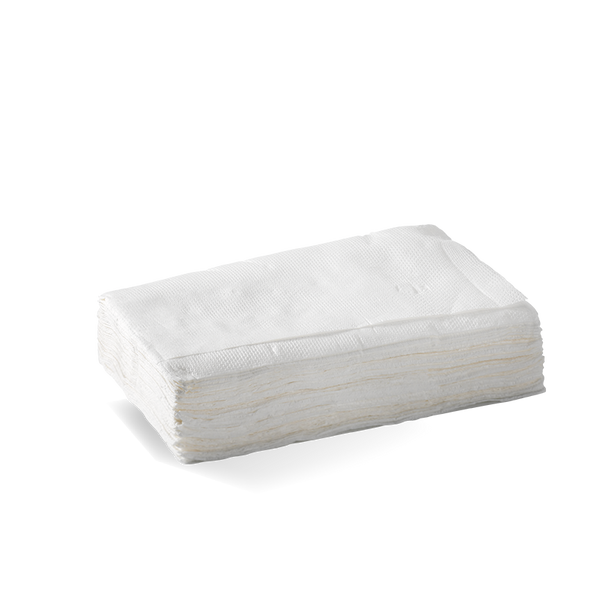 1 Ply Tall Dispenser Napkin (E Fold) -Fscâ® Pulp (White)