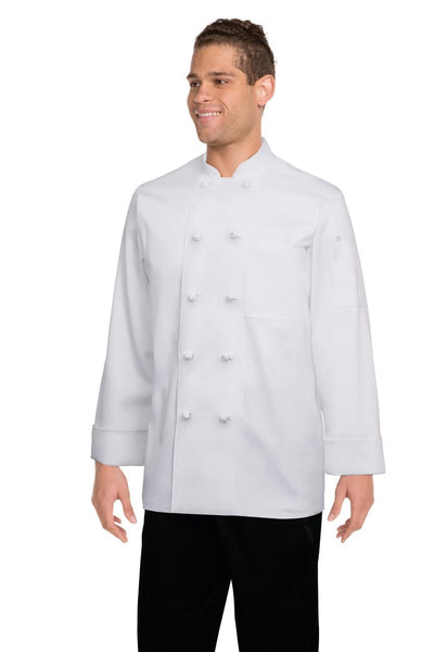 Bordeaux Basic Chef Jacket White