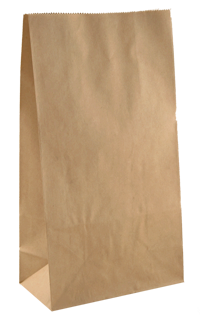 Brown Paper Bag- Baby 248 mm x 127 mm x 80 mm