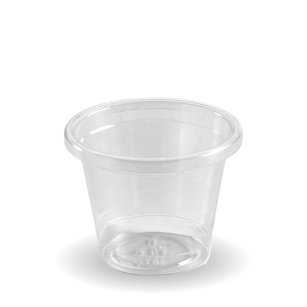 Ingeo Pla 30 mL Sample Cup (Clear)