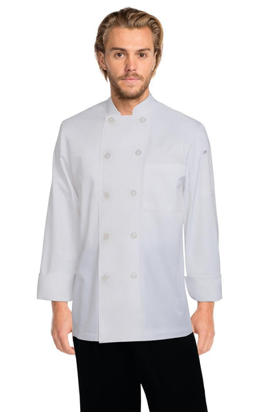 Le Mans Basic Chef Jacket White