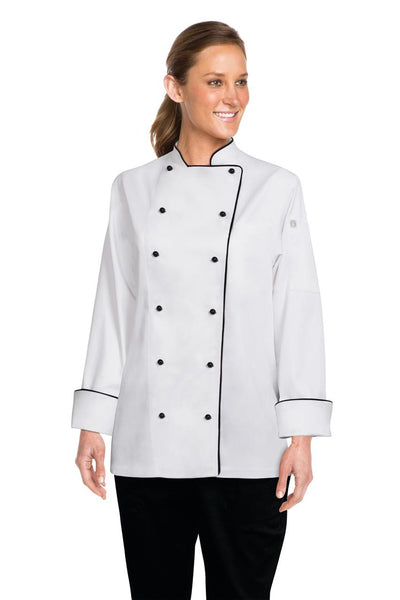 Lausanne Women'S Executive Chef Jacket White