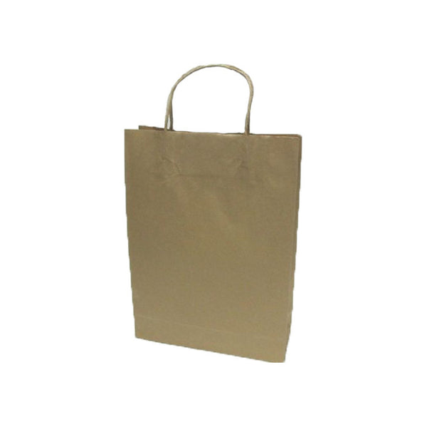Brown Kraft Bag- Small (265 mm x 160 mm x 80 mm)